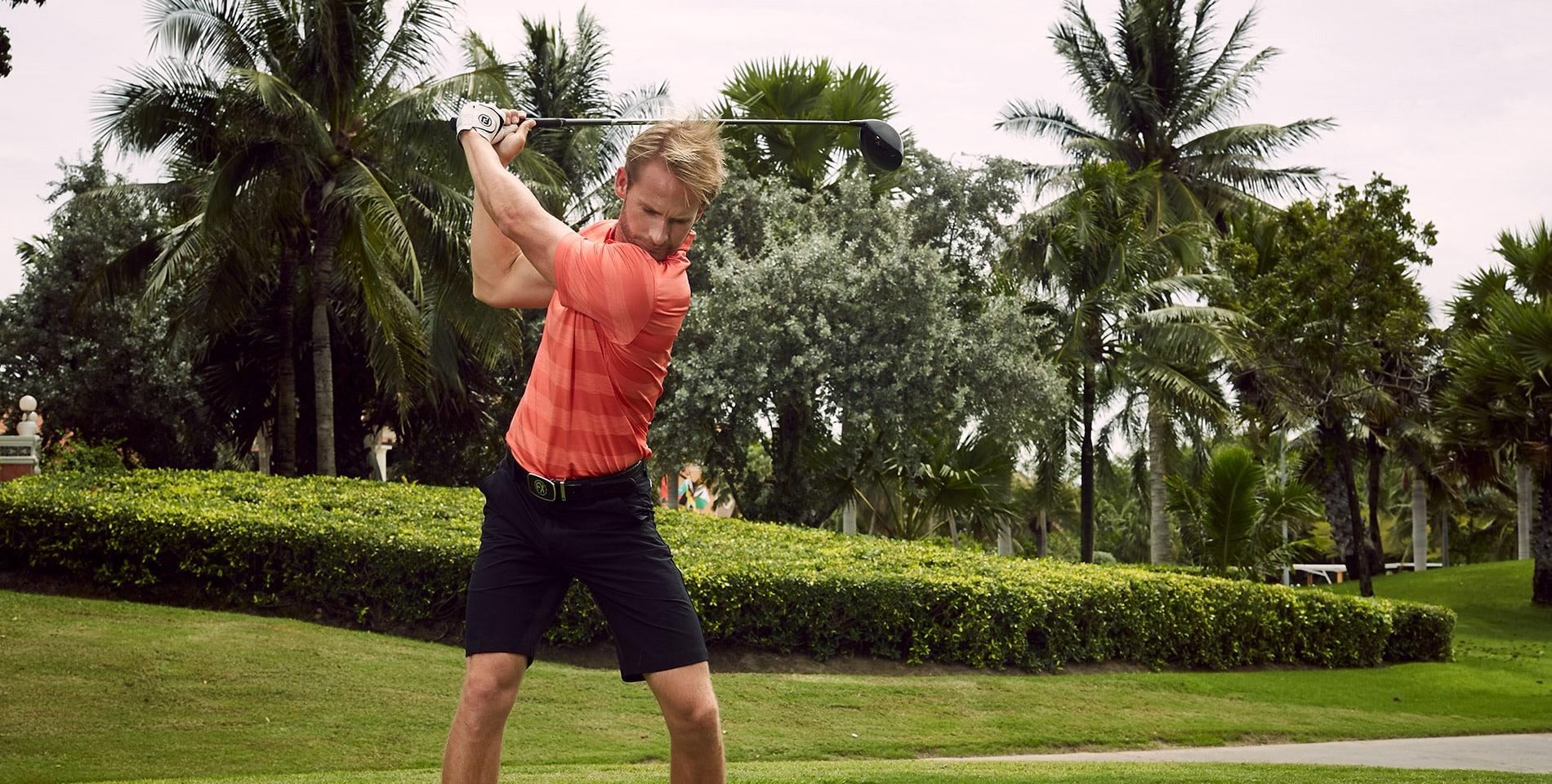 Golf equipment technology helps to hit longer drives