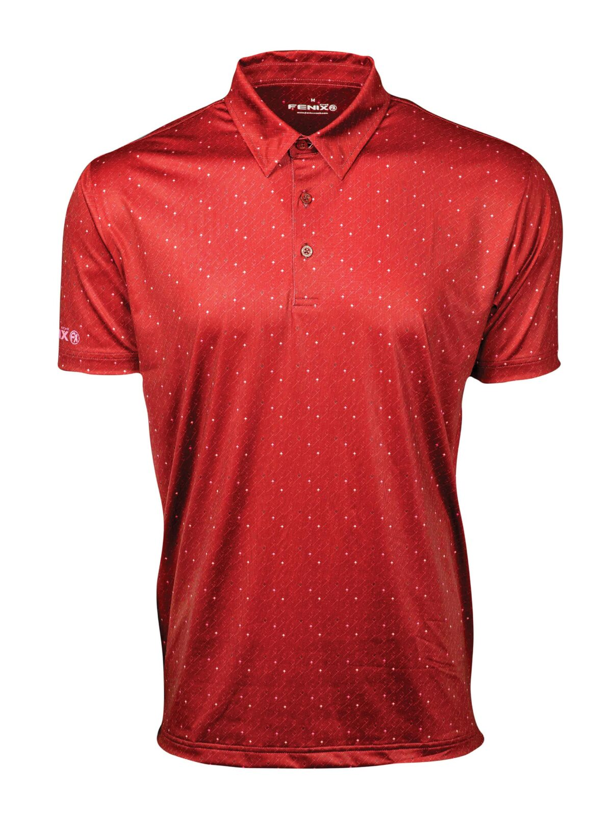 Scarlet Red Polo Shirt
