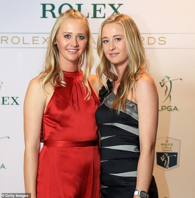 The Korda sisters will take part in an online golf tournament
