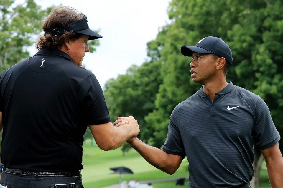 Tiger Woods Vs Phil Mickelson get ready for The Match this Sunday