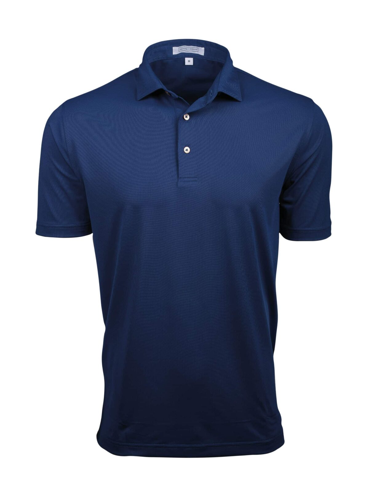 Fenix XCell PE Solid Bright Navy Performance Polo Shirt For Men