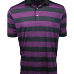 Fenix XCell PE Purple and black Rugby Polo Shirt by Fenix Xcell