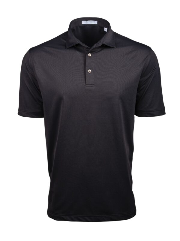 Fenix XCell PE black performance polo shirt for men