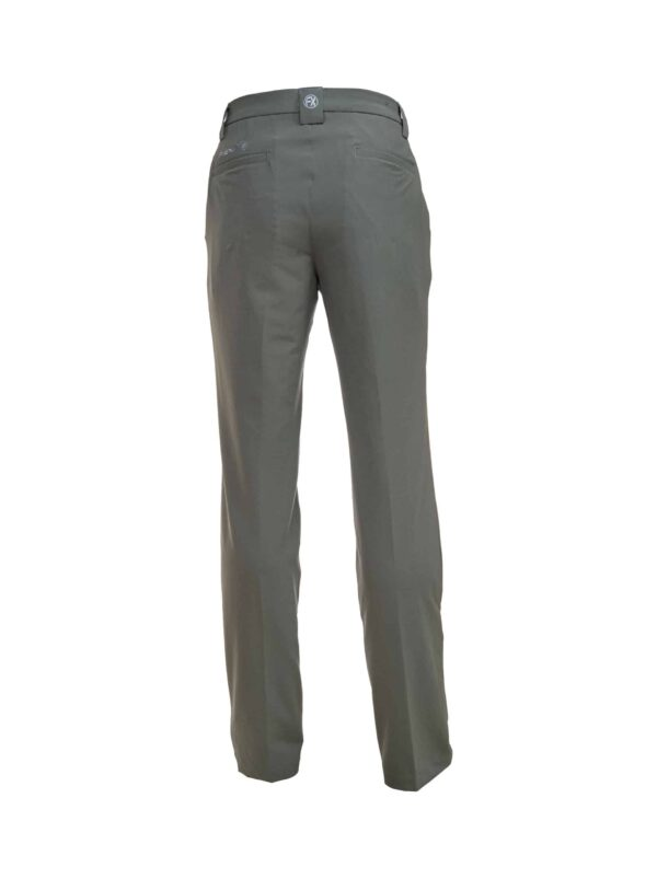 Fenix XCell Men's grey golf trousers back view