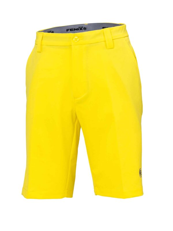 Fenix XCell yellow golf shorts for men