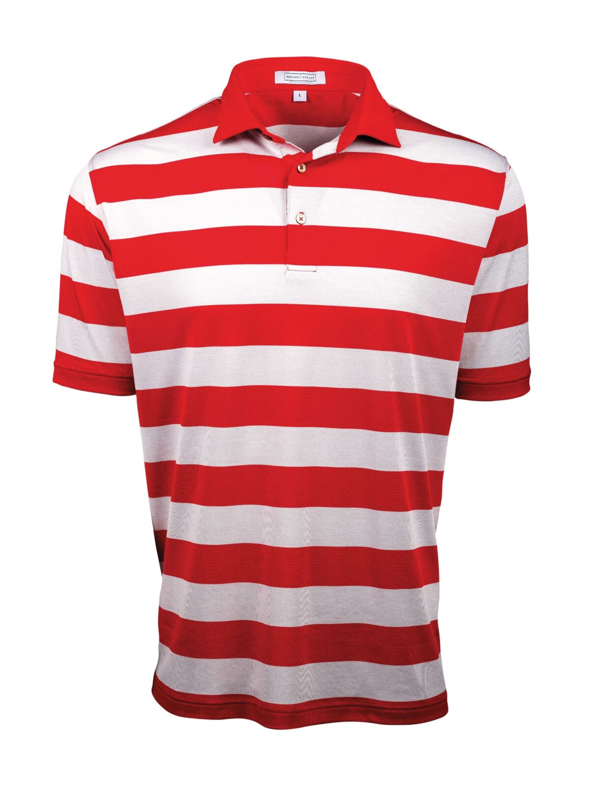Fenix XCell PE Red and white Rugby Stripe Polo Shirt