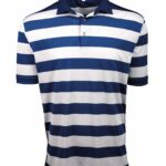Fenix XCell PE blue and white Rugby Style Polo Shirt