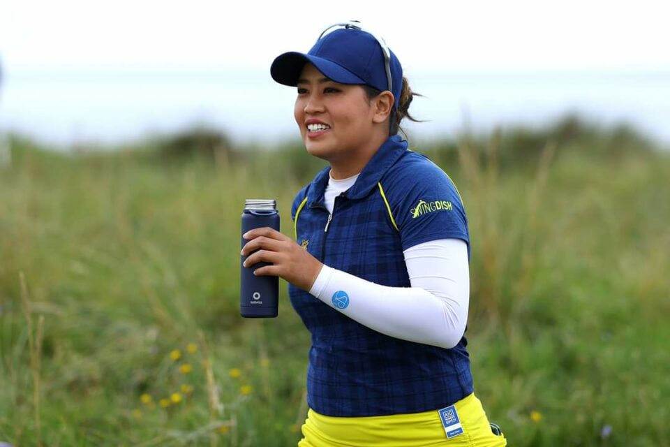 Jasmine Suwannapura at Royal Troon 2020