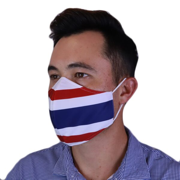Man wearing Fenix XCell Thailand Face Mask left side view