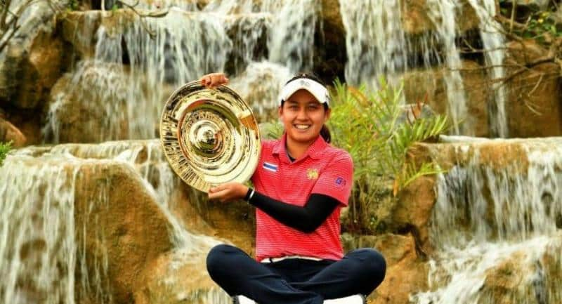 Thai golf star Atthaya Thitikul