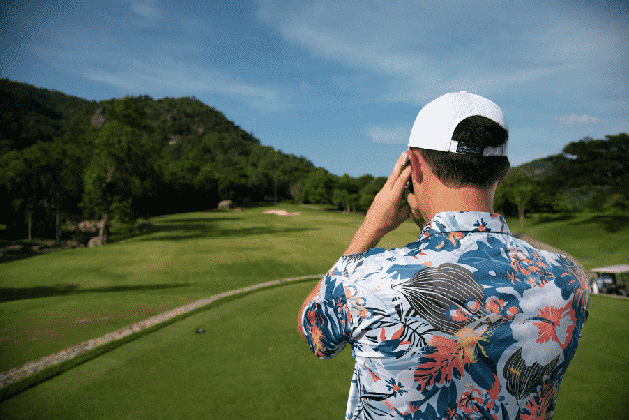 Fenix XCell Tropical Collection Polo Shirt at Black Mountain Golf Club