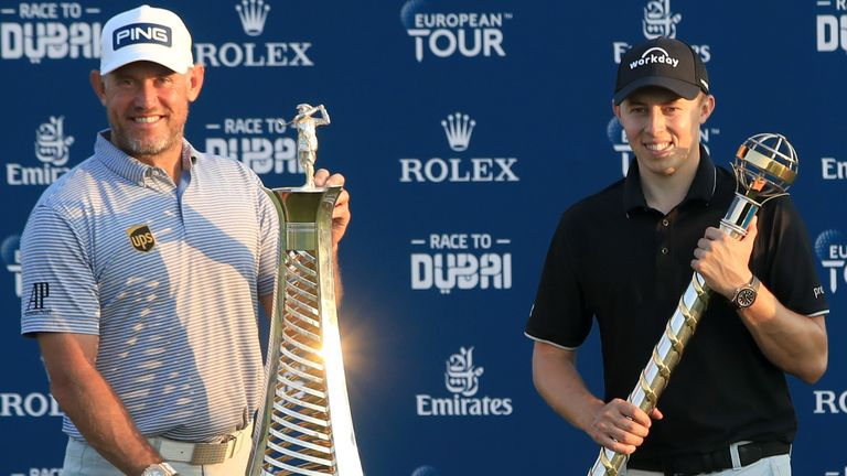 Lee Westwood and Matthew Fitzpatrick European Tour
