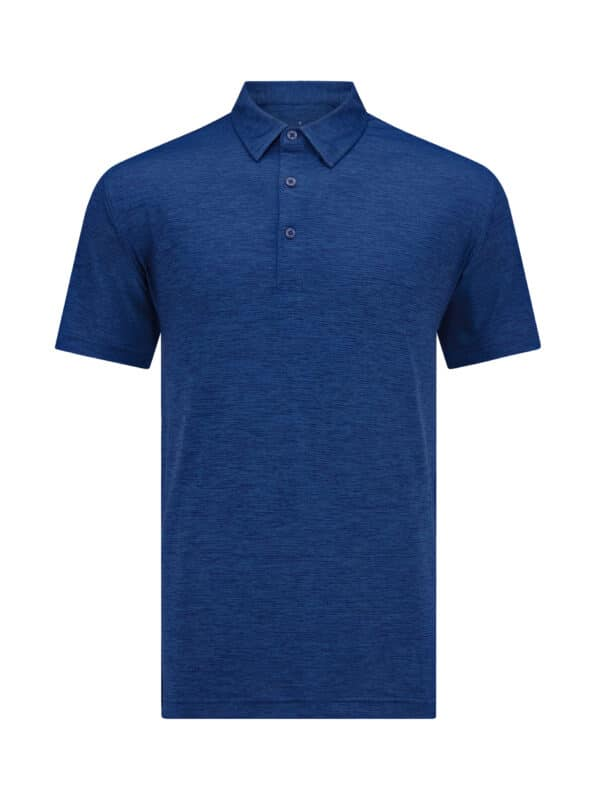 Oban Navy Front 1 golf polo shirt