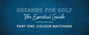 colour color matching golf outfits