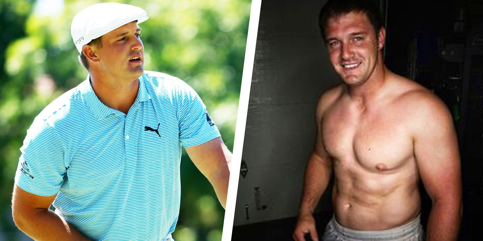 Bryson Dechambeau before and after